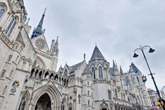 Royal Courts of Justice at London, England Royalty Free Stock Photos