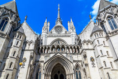Royal Courts of Justice in London Royalty Free Stock Image