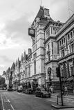 The Royal Courts of Justice in London - LONDON - GREAT BRITAIN - SEPTEMBER 19, 2016 Royalty Free Stock Images