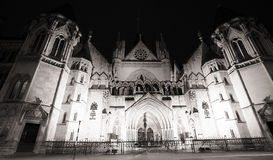 Royal Courts of Justice, London Royalty Free Stock Photo