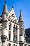 Royal Courts of Justice Royalty Free Stock Photography