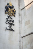 The Royal Courts of Justice, London. royalty free stock image