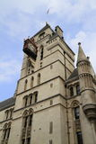 The Royal Courts of Justice in London. Stock Photos