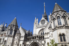 Royal Courts of Justice in London Stock Photo