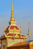 Royal cremation ceremony Royalty Free Stock Image