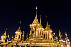 The Royal Cremation Ceremony of His Majesty King Bhumibol Adulya Royalty Free Stock Photography
