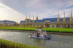 Royal Cremation Exhibition of His Majesty King Bhumibol Adulyadej, Sanam Luang, Bangkok City,Thailand stock photography