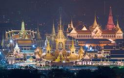 Royal Cremation Exhibition of His Majesty King Bhumibol Adulyadej, Sanam Luang, Bangkok City,Thailand stock image