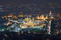 Royal Cremation Exhibition of His Majesty King Bhumibol Adulyadej, Sanam Luang, Bangkok City,Thailand stock photo