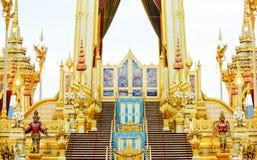 Royal cremation of His Majesty King Bhumibol Adulyadej. Royal cremation of His Majesty King Bhumibol Adulyadej at Bangkok Royalty Free Stock Photography