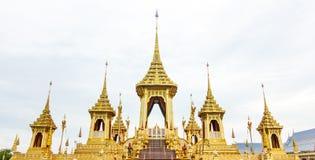 Royal cremation of His Majesty King Bhumibol Adulyadej. Royal cremation of His Majesty King Bhumibol Adulyadej at Bangkok Royalty Free Stock Images
