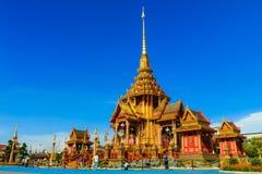 Royal Cremation Structure , Bangkok Thailand Royalty Free Stock Photos