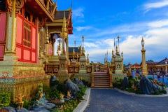 Royal Cremation Structure , Bangkok Thailand Stock Photography