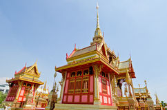 The royal crematorium in the royal cremation ceremony Royalty Free Stock Photos