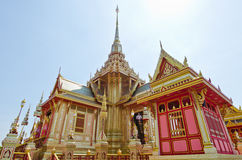 The royal crematorium in the royal cremation ceremony Stock Photography