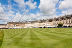 Royal Crescent Royalty Free Stock Photo