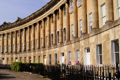 Royal Crescent Royalty Free Stock Images