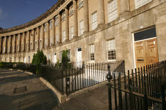Royal Crescent, Bath. View of the Royal Crescent, Bath Royalty Free Stock Photography