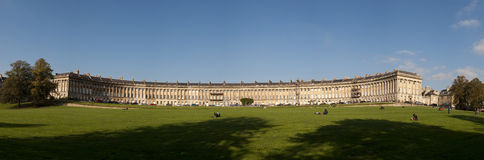 The Royal Crescent in Bath Stock Photo