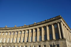 Royal Crescent Bath Stock Photography