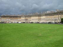 The Royal Crescent of Bath royalty free stock photo