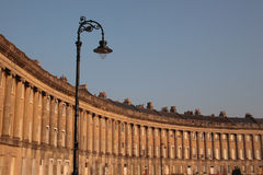 Royal Crescent, Bath Royalty Free Stock Image