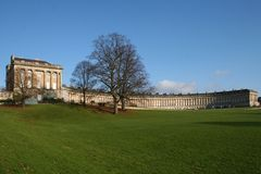 Royal Crescent Bath Royalty Free Stock Image