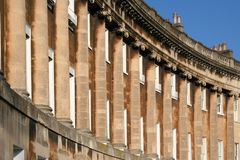 Royal Crescent Bath Stock Photos