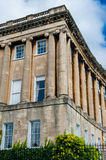 The Royal Crescent in Bath Royalty Free Stock Photography