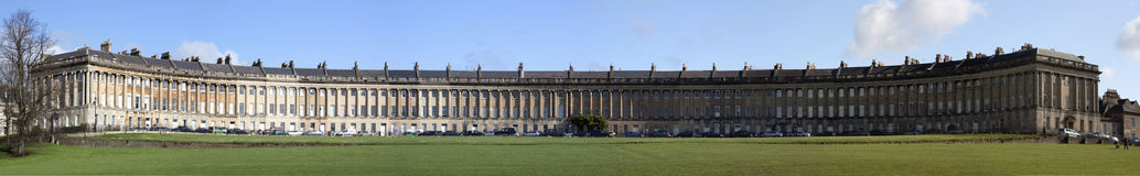 Royal Crescent, Bath, England Stock Images
