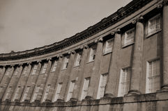 The Royal Crescent in Bath England Stock Images