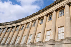 The Royal Crescent in Bath England Royalty Free Stock Photography