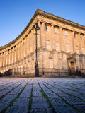 Section of Royal Crescent , Bath Stock Image