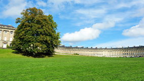 The Royal Crescent in Bath England Royalty Free Stock Image