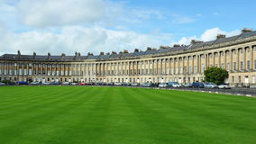 The Royal Crescent in Bath England Stock Photos
