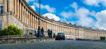 The Royal Crescent in Bath Royalty Free Stock Image