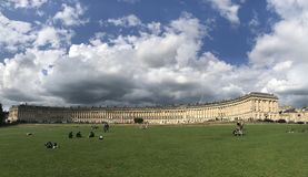 Royal crescent, Bath royalty free stock images
