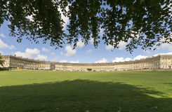 The Royal Crescent, Bath, Somerset Stock Photos