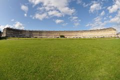 Royal Crescent, Bath, Somerset, England, UK Royalty Free Stock Photography