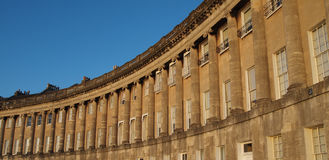 Royal Crescent in Bath Stock Photo