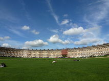 Royal Crescent Stock Photo