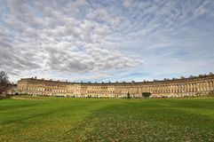 Royal Crescent Bath, UK Stock Image