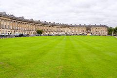 Royal Crescent in Bath. UK Royalty Free Stock Photos