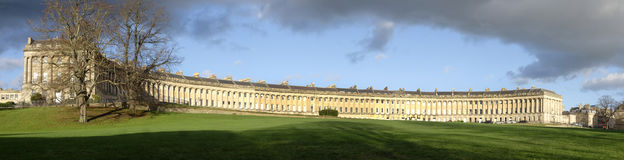 Royal Crescent Bath Stock Images