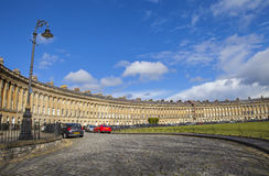 The Royal Crescent in Bath Stock Image
