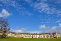 Royal Crescent in Bath Stock Image