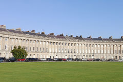 Royal Crescent Royalty Free Stock Photography