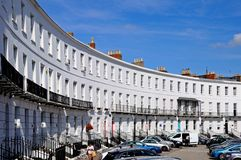 The Royal Crescent, Cheltenham. Stock Image