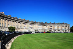 Royal Crescent In Bath Royalty Free Stock Photography