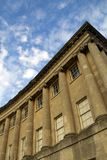 Royal Crescent and sky Stock Image